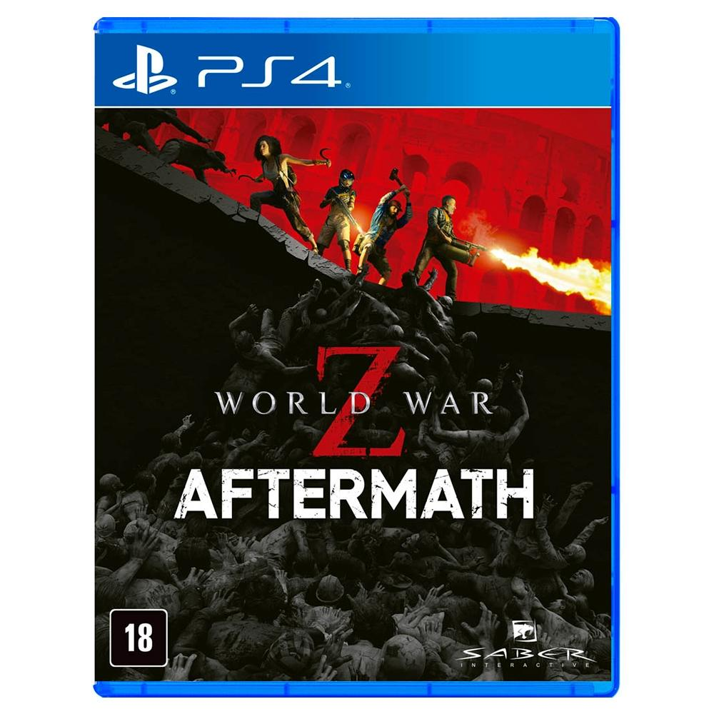 Jogo para PS4 World War Z Aftermath - Saber Interactive