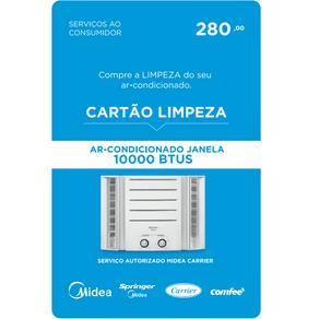 Servico de Limpeza para Ar Condicionado de Janela de 10000BTUS Midea