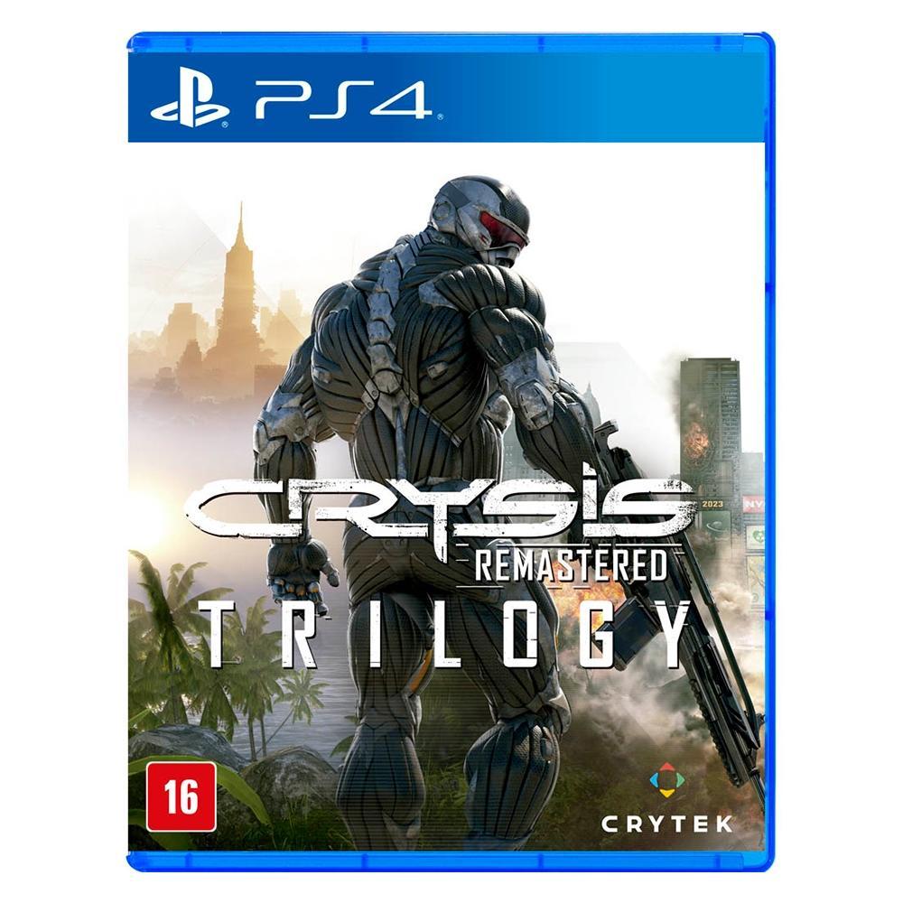 Jogo p/ PS4 Crysis Trilogy Remastered - Crytek