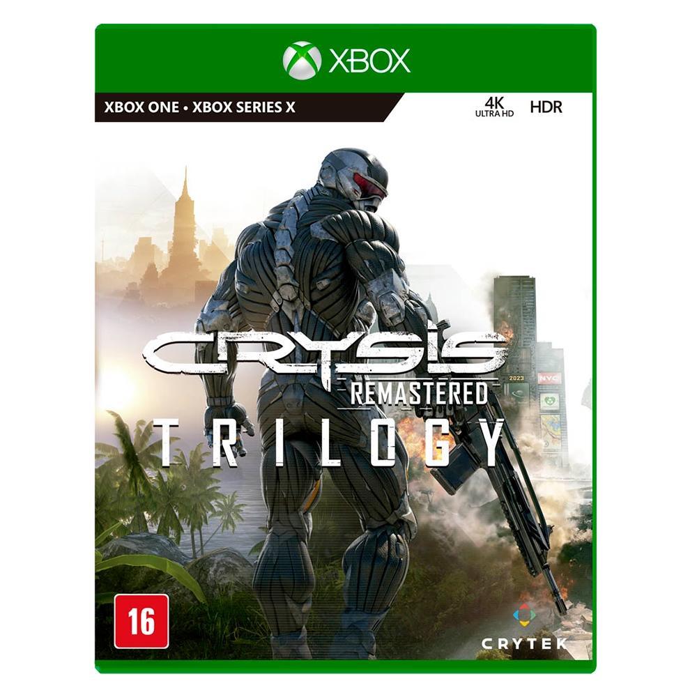 Jogo p/ Xbox - Crysis Trilogy - Crytek